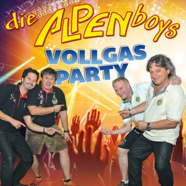 Die Alpenboys - Vollgas Party CD