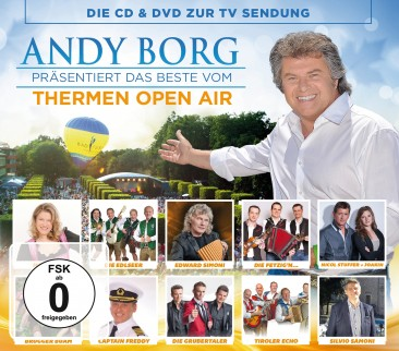 Andy Borg präs. das Beste vom Thermen Open Air CD+DVD