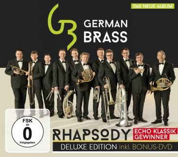 German Brass - Rhapsody - Deluxe Edition CD+DVD