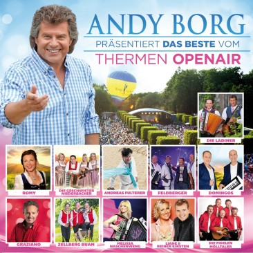 Andy Borg präs. das Beste vom Thermen Open Air - Folge 2 2er-CD