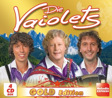 Die Vaiolets - Gold Edition 4er-CD