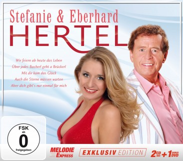 Stefanie Hertel & Eberhard - Exklusivedition 2CD+DVD