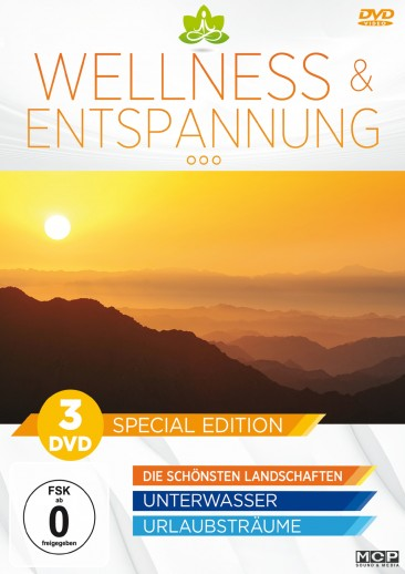 Wellness & Entspannung - Special Edition 3er-DVD