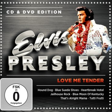 Elvis Presley - Love Me Tender - CD & DVD Edition DVD+CD