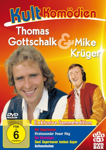 Kultkomödien - Thomas Gottschalk - Sammeledition 5er-DVD