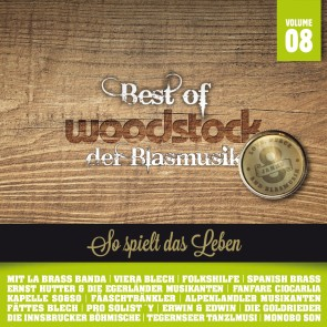 Best Of Woodstock der Blasmusik Vol. 8 2er-CD