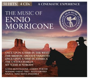 The Music Of Ennio Morricone 4er-CD
