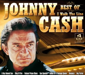 Johnny Cash - Best Of - I Walk The Line 4er-CD