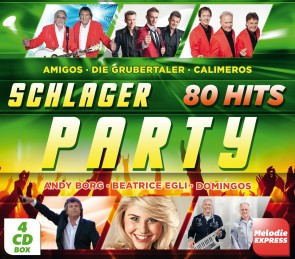 Schlager Party - 80 Hits 4er-CD