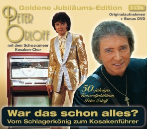 Peter Orloff - Goldene Jubiläums-Edition 3CD+DVD