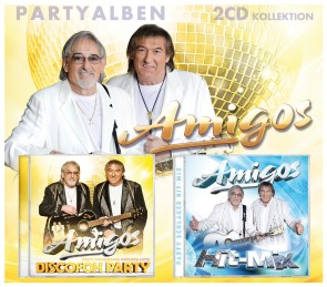 Amigos - Partyalben - 2CD Kollektion
